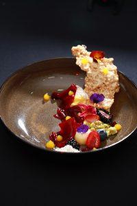Dessert for Western sit-down dinner