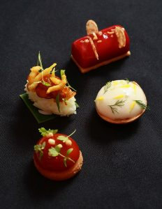 Modern Singapore canapes for events