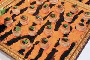 Themed canapes for corporate events