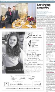Serving up creativity on The Straits Times
